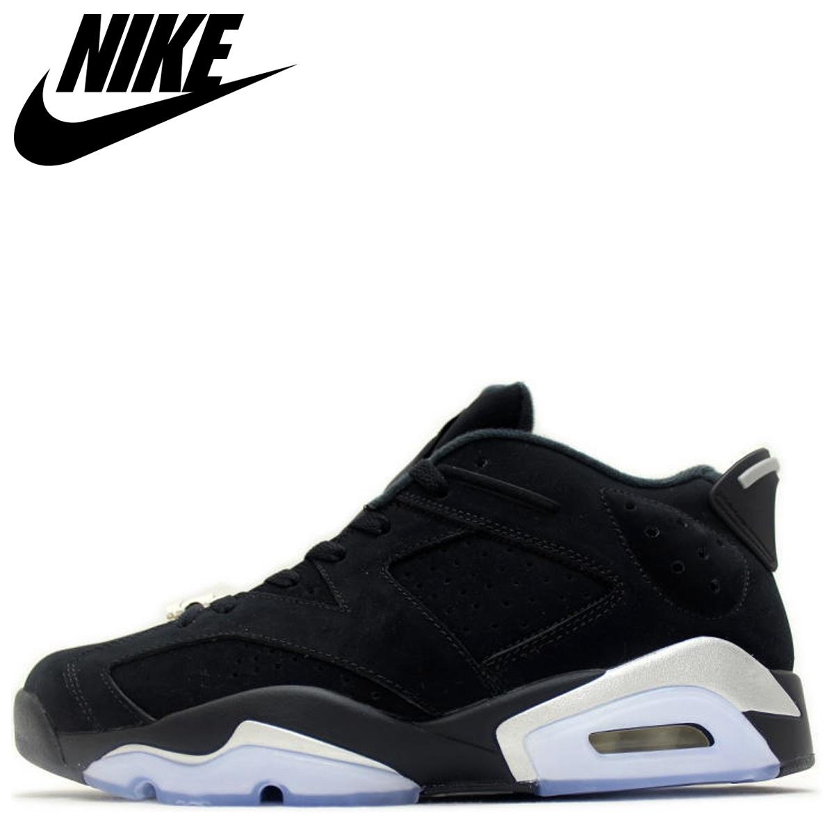 new product dfa48 89a94 Nike NIKE Air Jordan 6 nostalgic sneakers men AIR JORDAN 6 RETRO LOW black  black 304,401-003