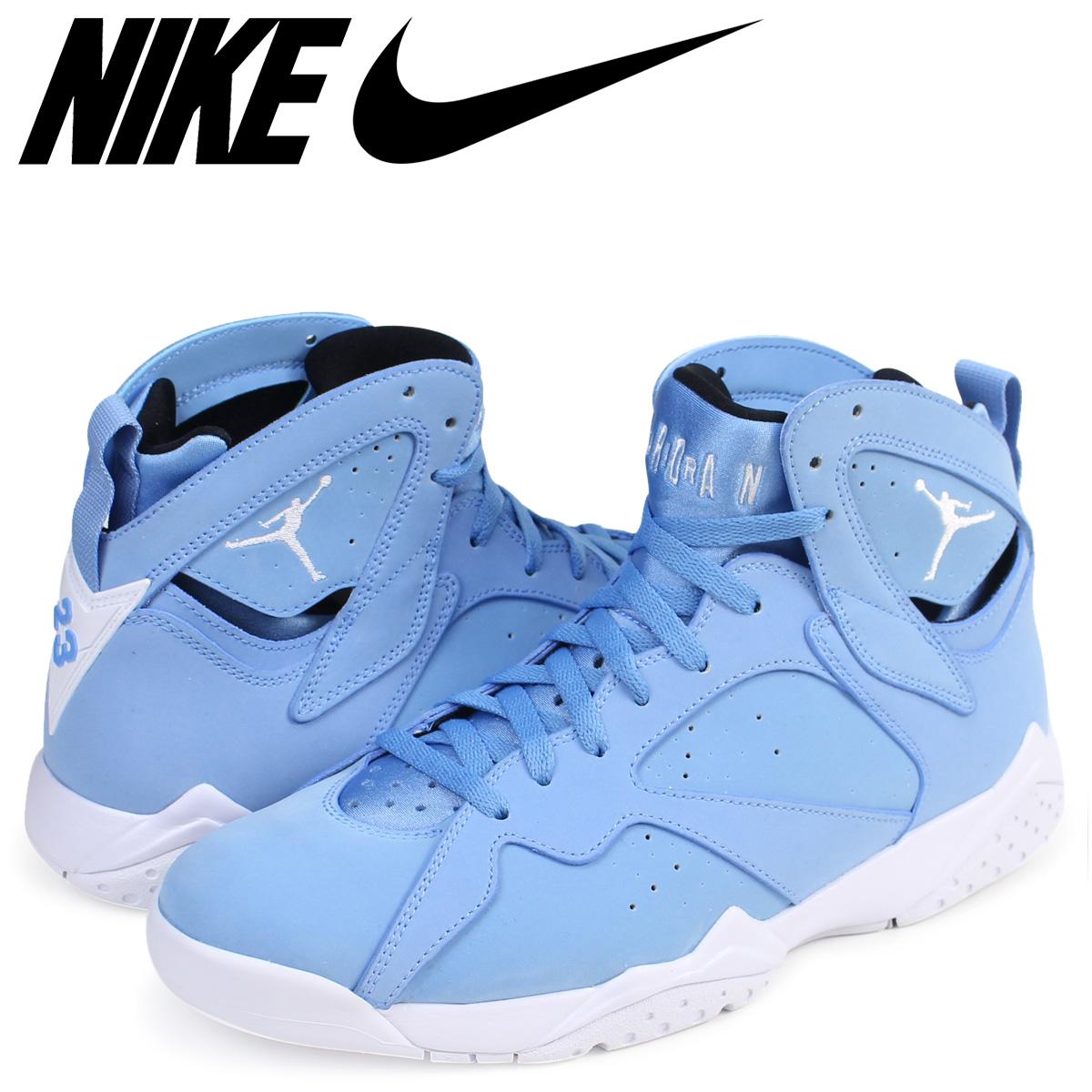 gorące wyprzedaże sekcja specjalna nowy przyjazd Nike NIKE Air Jordan 7 nostalgic sneakers AIR JORDAN 7 RETRO PANTONE  304,775-400 men's shoes blue