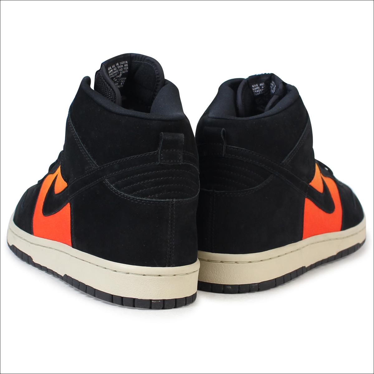 save off 63ea2 b911d Nike NIKE dunk high sneakers DUNK HIGH PREMIUM SUNSET 306,968-001 mens  shoes black
