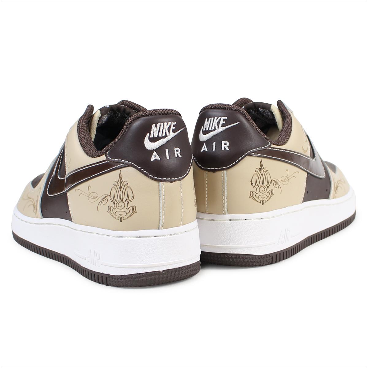 NIKE AIR FORCE 1 MR CARTOON Nike air force 1 sneakers 307,334 221 men's shoes brown