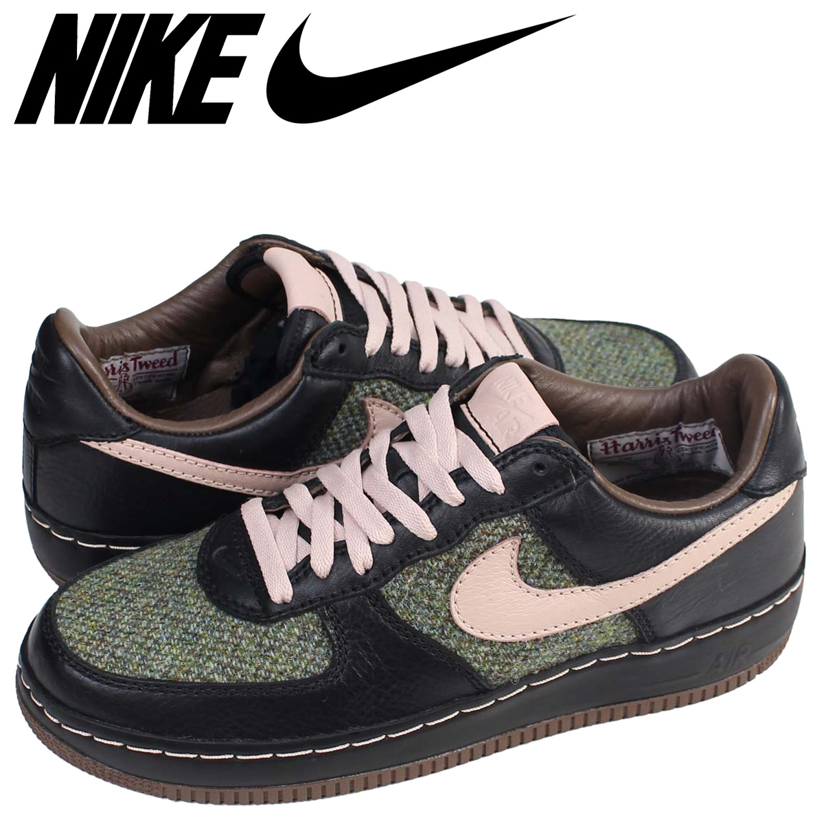 exquisite design official site reliable quality Nike NIKE air force 1 sneakers AIR FORCE 1 LOW INSIDEOUT TWEED 312,268-061  low men shoes black
