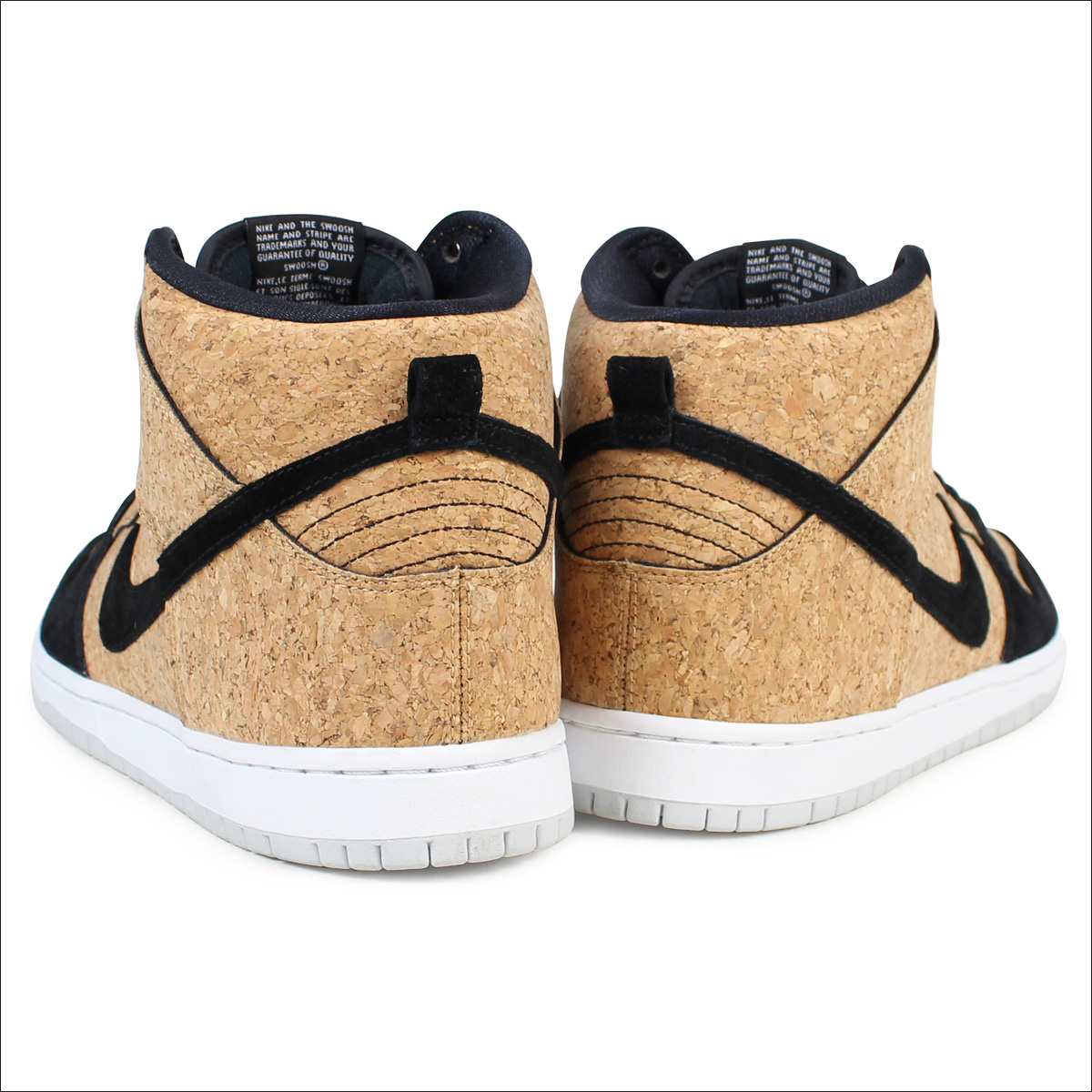 buy online b127c 10b0e NIKE SB DUNK HIGH PREMIUM CORK Nike dunk high sneakers 313,171-026 men s  shoes white