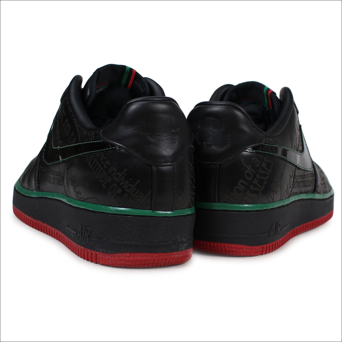 FORCE 318 775 shoes NIKE 1 008 black Nike AIR men's air sneakers PREMIUM force 1 BLACK LOW HISTORY 2YEI9DWH