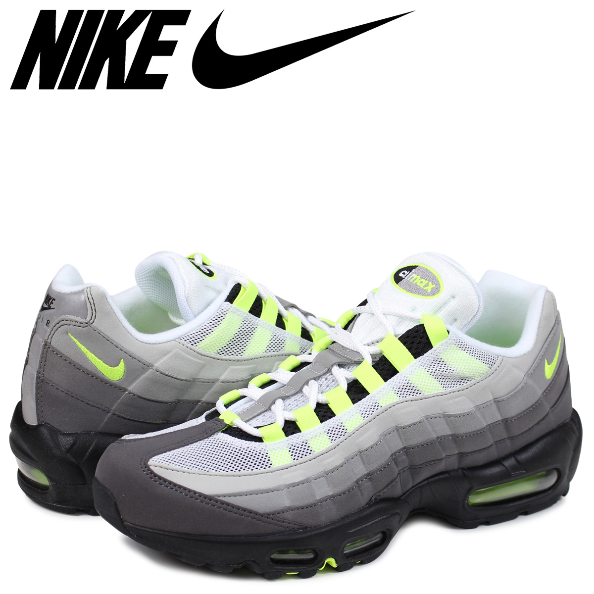 competitive price 38772 42ce9 ... nike air max 95 og kie ney amax 95 sneakers men 554970 071 neon yellow