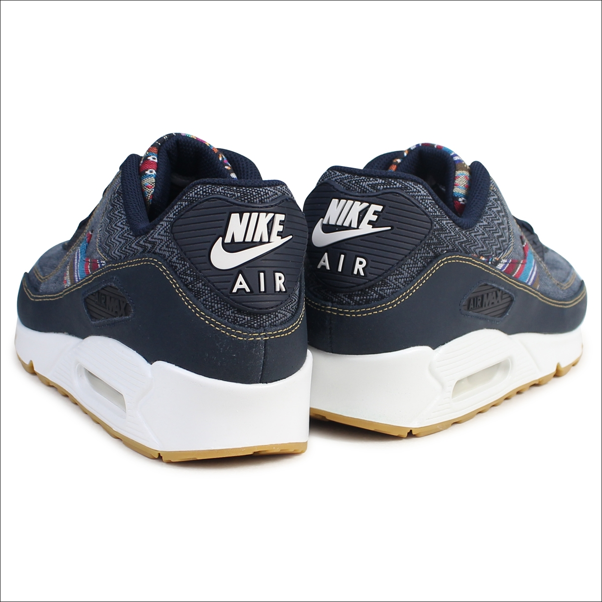 cheap for discount 11fc1 7ed40 Nike NIKE Air Max 90 sneakers AIR MAX 90 PREMIUM AFRO PUNK PACK 700,155-402  men s shoes navy