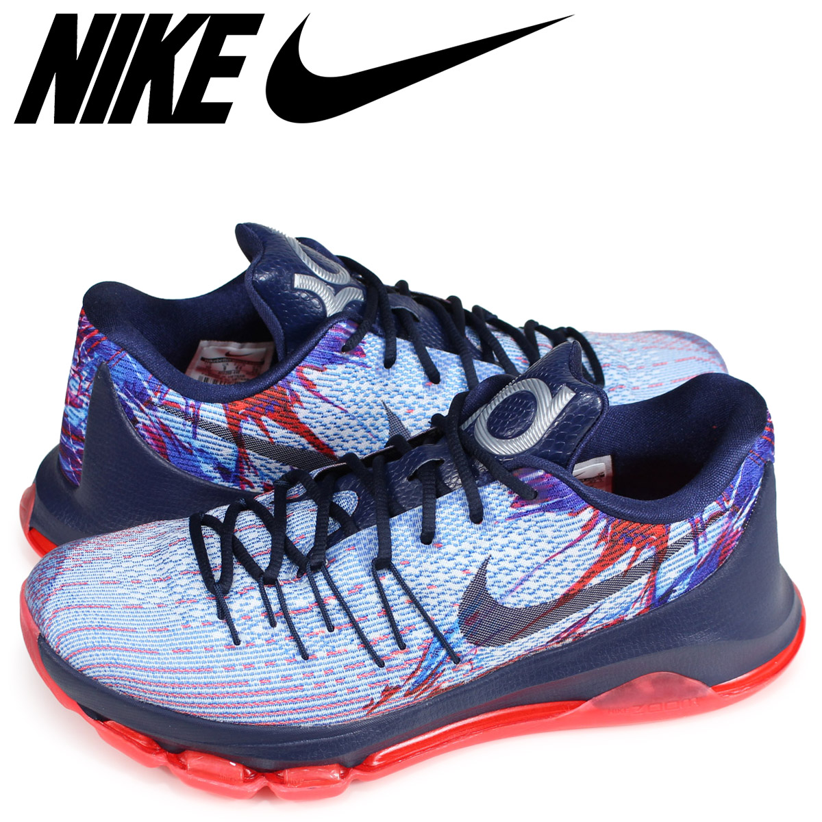 finest selection 30d3e de764 Nike NIKE KD8 sneakers men KD 8 EP INDEPENDENCE DAY navy 800,259-446