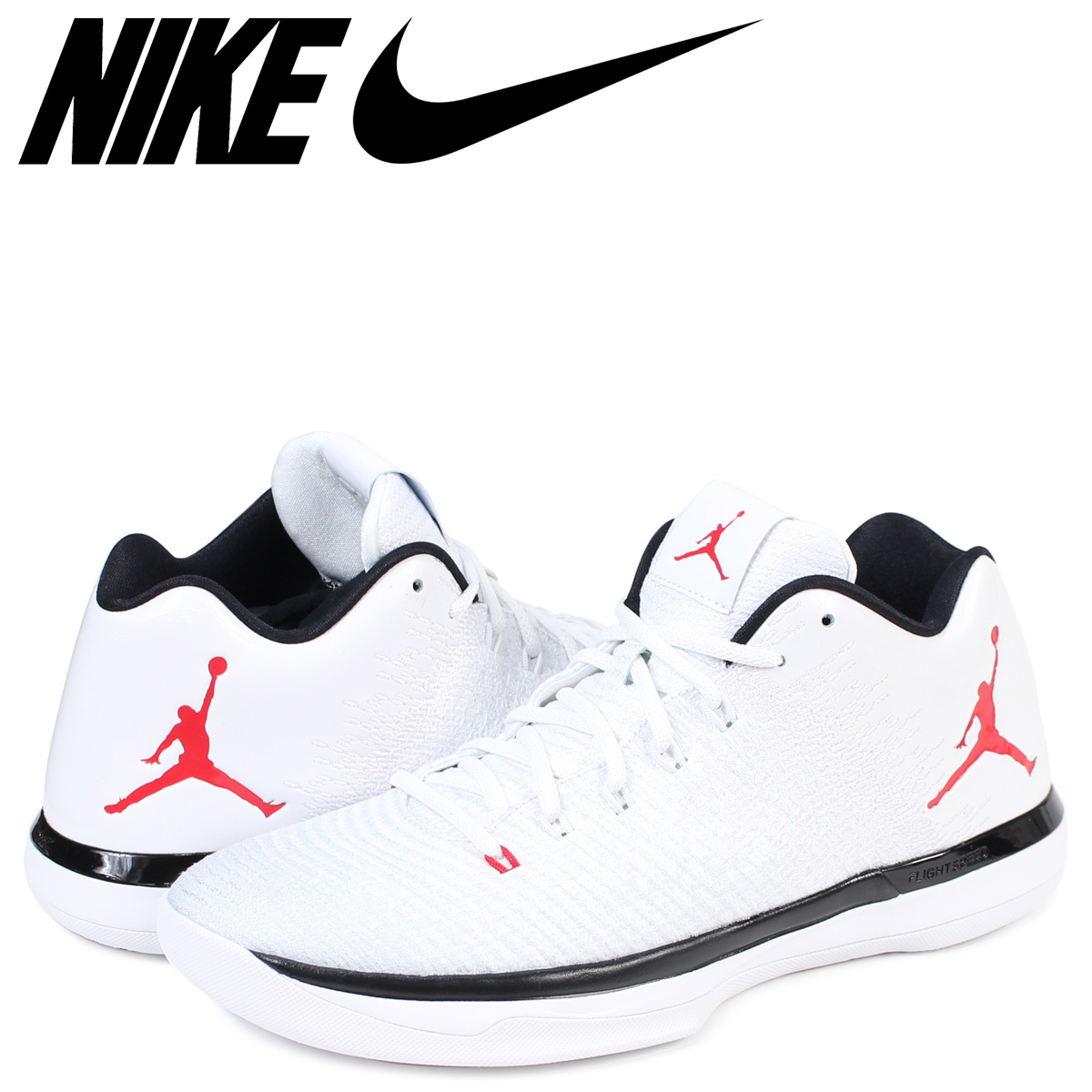quality design ffb0b b413d NIKE AIR JORDAN 31 LOW Nike Air Jordan 31 sneakers 897,564-101 men's white