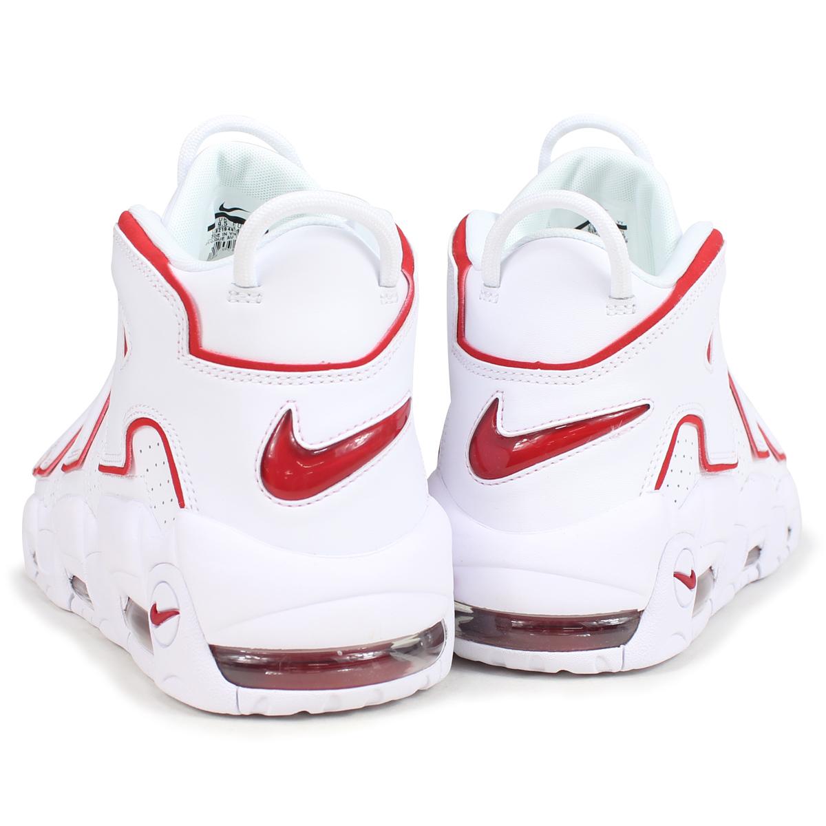 huge discount dbae5 cbfe7 NIKE AIR MORE UPTEMPO 96 Nike air more up tempo sneakers men 921,948-102  white