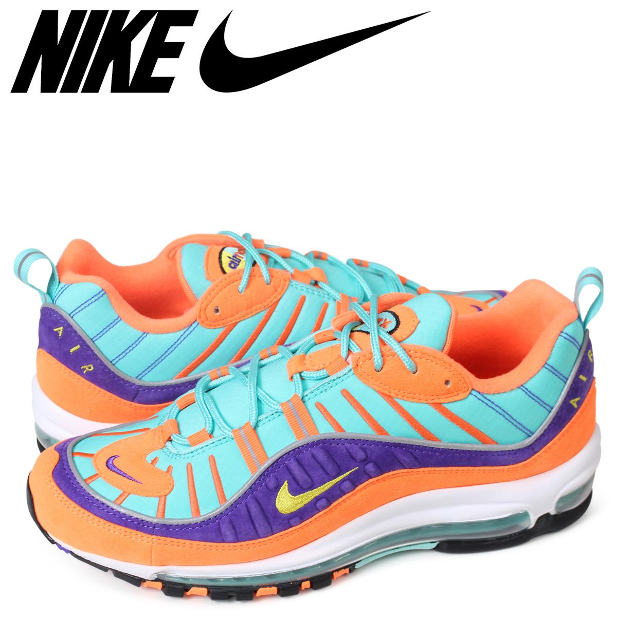 lowest price 0f269 57f9c NIKE AIR MAX 98 QS Kie Ney AMAX 98 sneakers men 924,462-800 orange