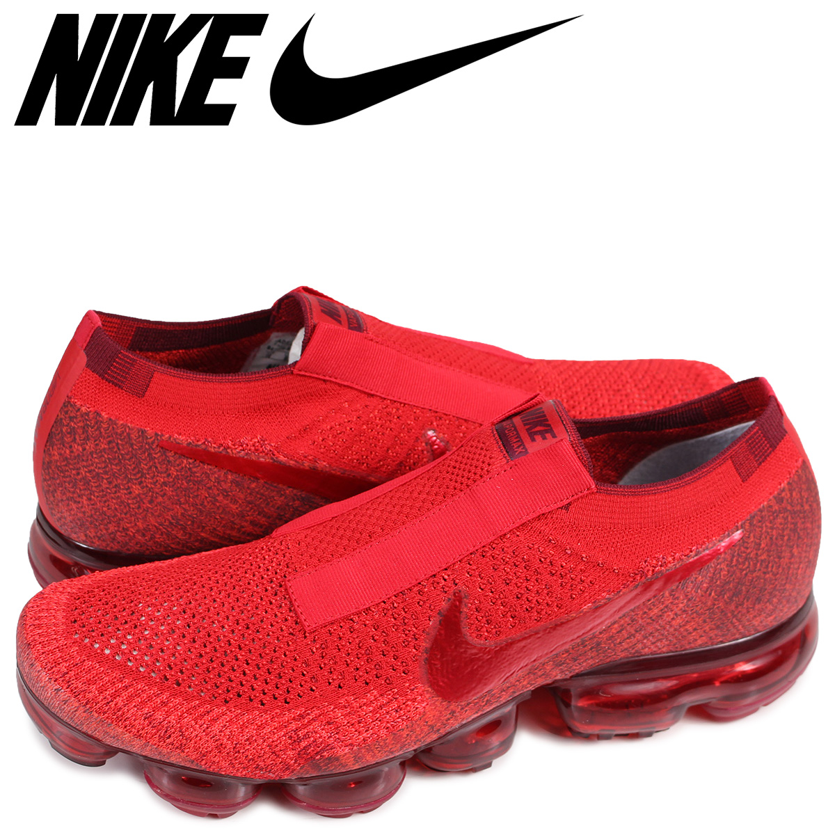 best service 91209 14d34 NIKE AIR VAPORMAX FLYKNIT ID JEWEL TONES Nike air vapor max fried food knit  sneakers men 941,834-971 red