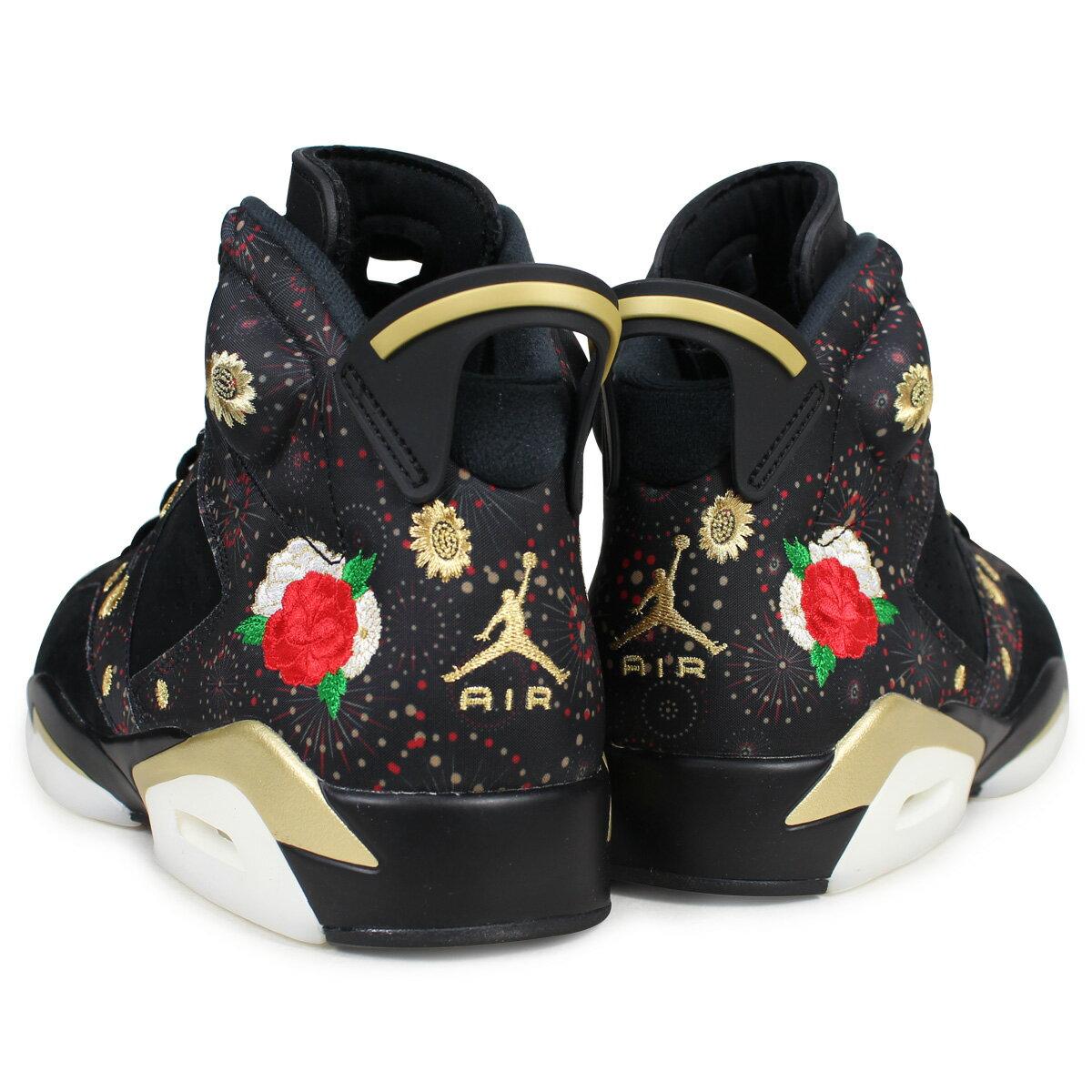 7a8ac17c34f ... NIKE AIR JORDAN 6 RETRO CNY Nike Air Jordan 6 nostalgic sneakers men  black AA2492- ...