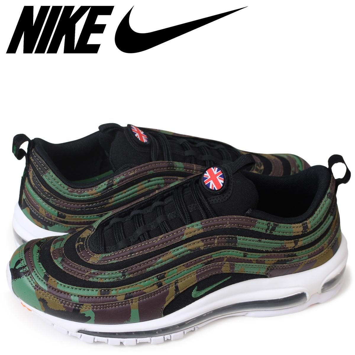 NIKE AIR MAX 97 OG UK CAMO Kie Ney AMAX 97 sneakers men AJ2614 201 black