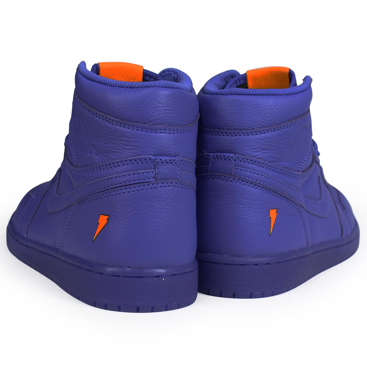 NIKE AIR JORDAN 1 RETRO HIGH OG G8RD BE LIKE MIKE GRAPE Nike Air Jordan 1  nostalgic high sneakers men AJ5997-555 blue bcf3740e8