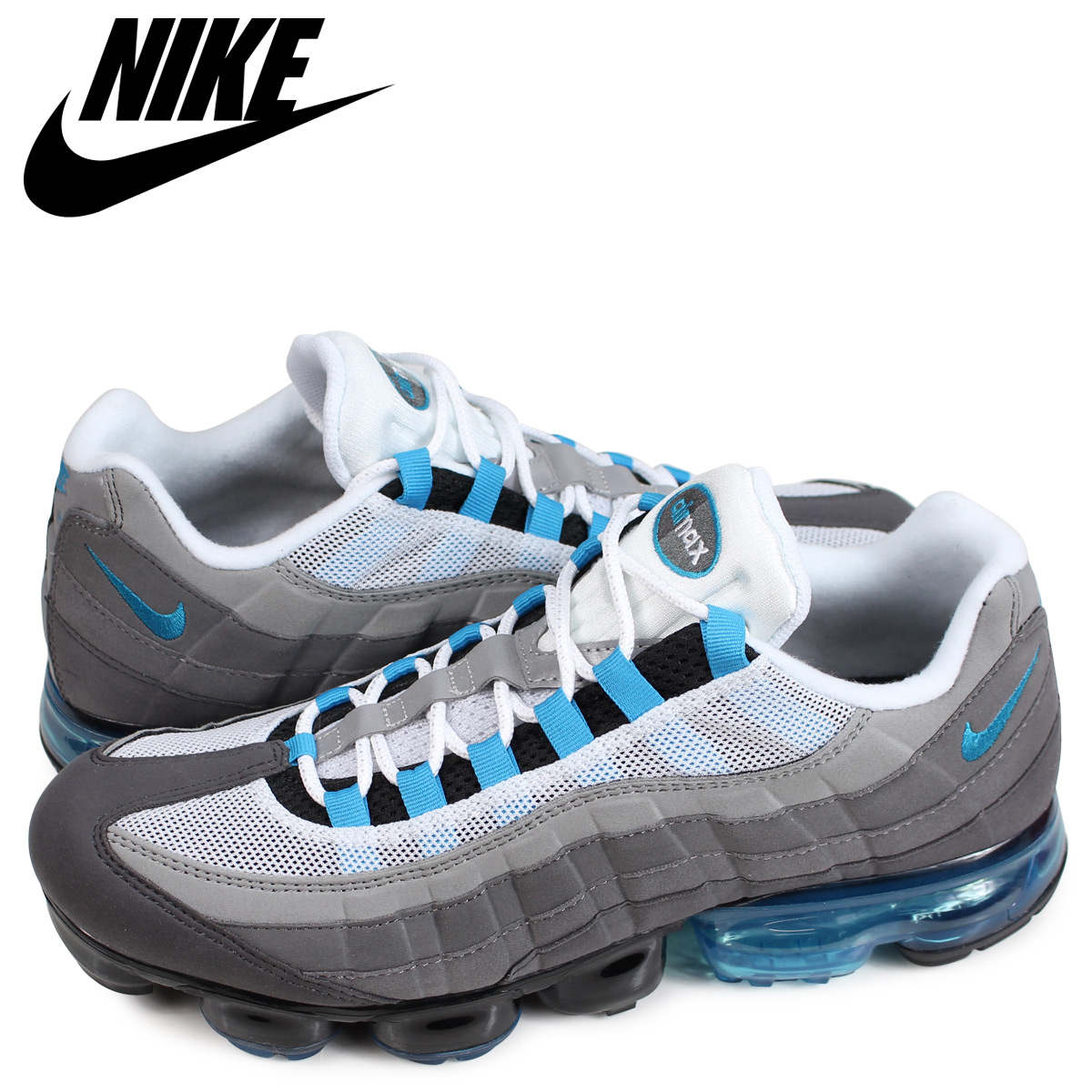 201f5bac14 Nike NIKE vapor max 95 sneakers men AIR VAPORMAX 95 black AJ7292-002 ...