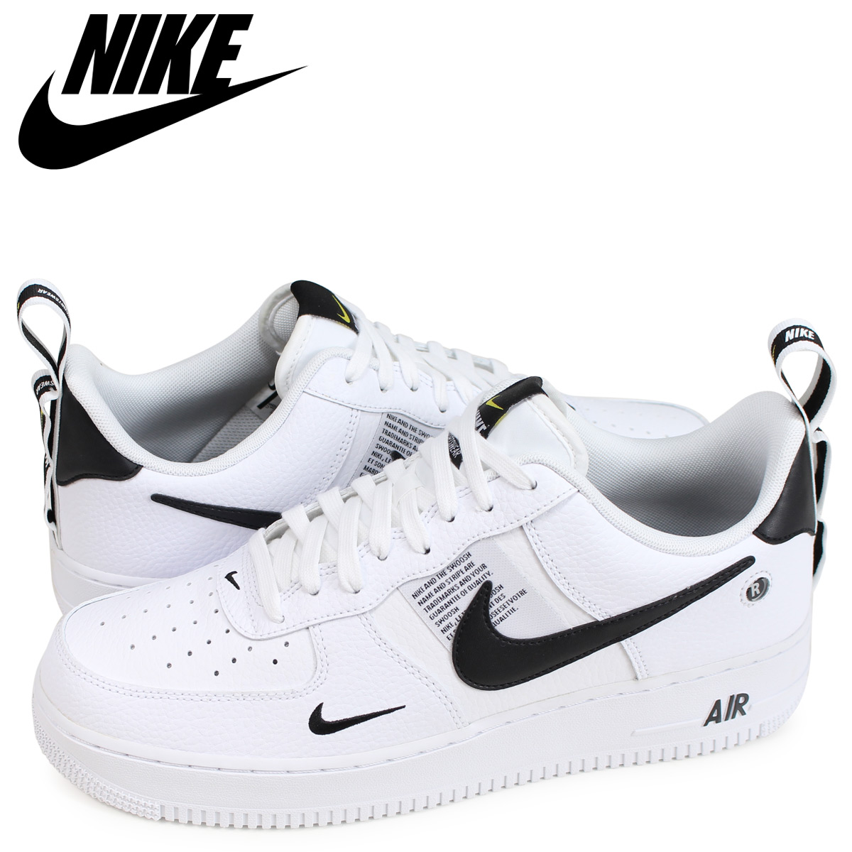 Nike Air Force 1' 07 Utility Sneakers In White AJ7747 100