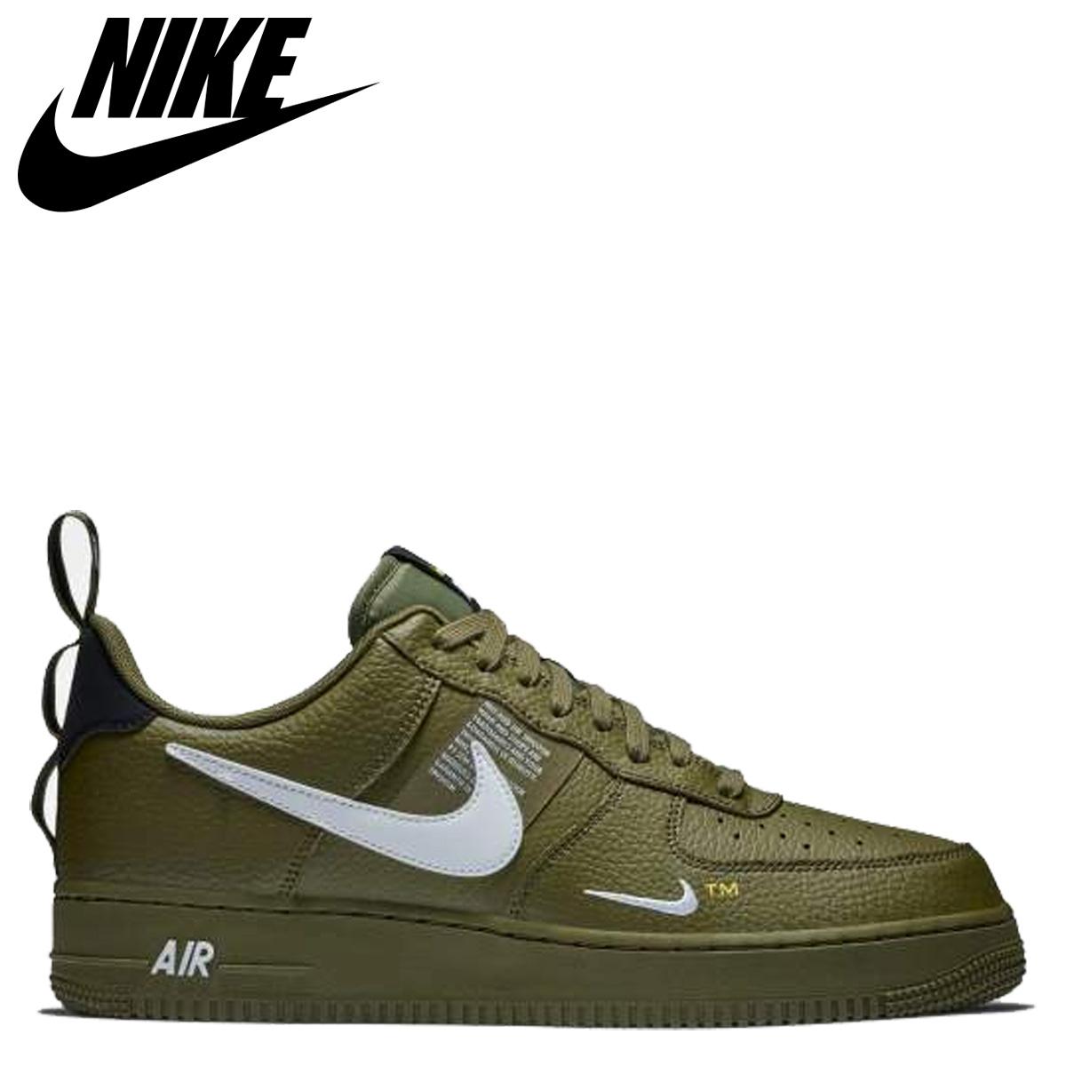 Nike NIKE air force 1 sneakers men AIR FORCE 1 07 LV8 UTILITY olive AJ7747 300