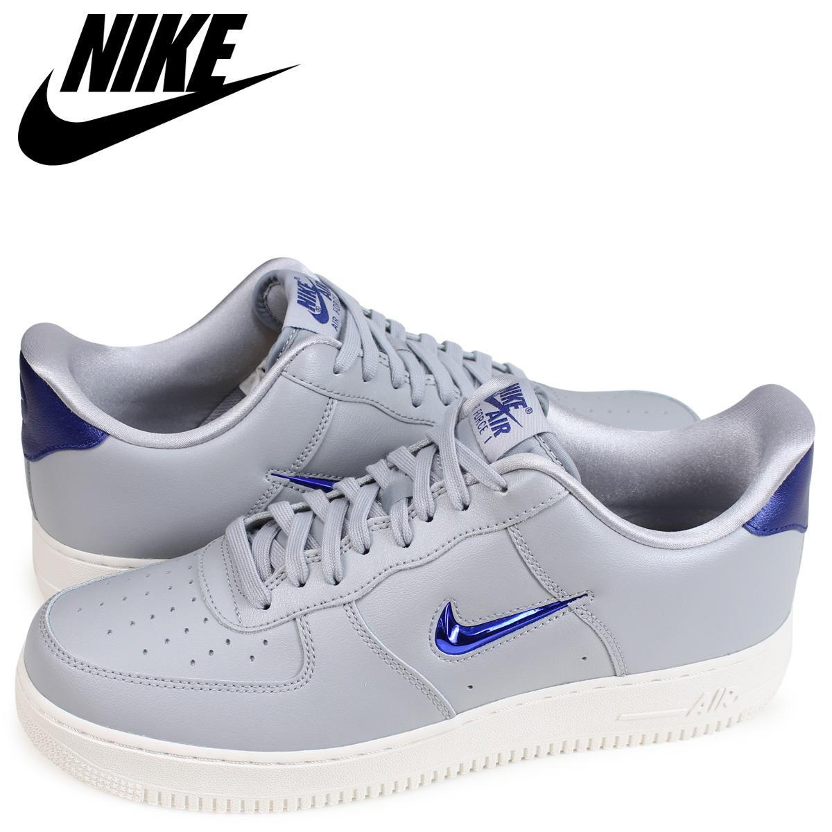 Air Lv8 Force Men Lthr 1 002 Sneakers 07 Aj9507 Nike Gray 5SARjLqc43