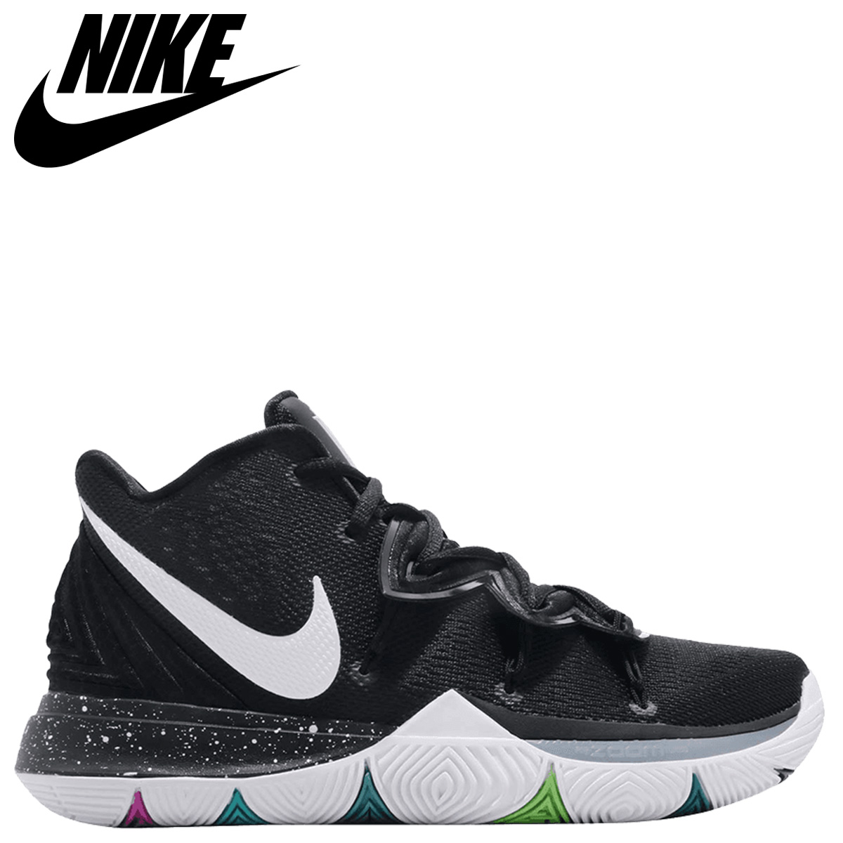 buy online 3c7ee a4521 Nike NIKE chi Lee 5 sneakers men KYRIE 5 BLACK MAGIC black AO2919-901