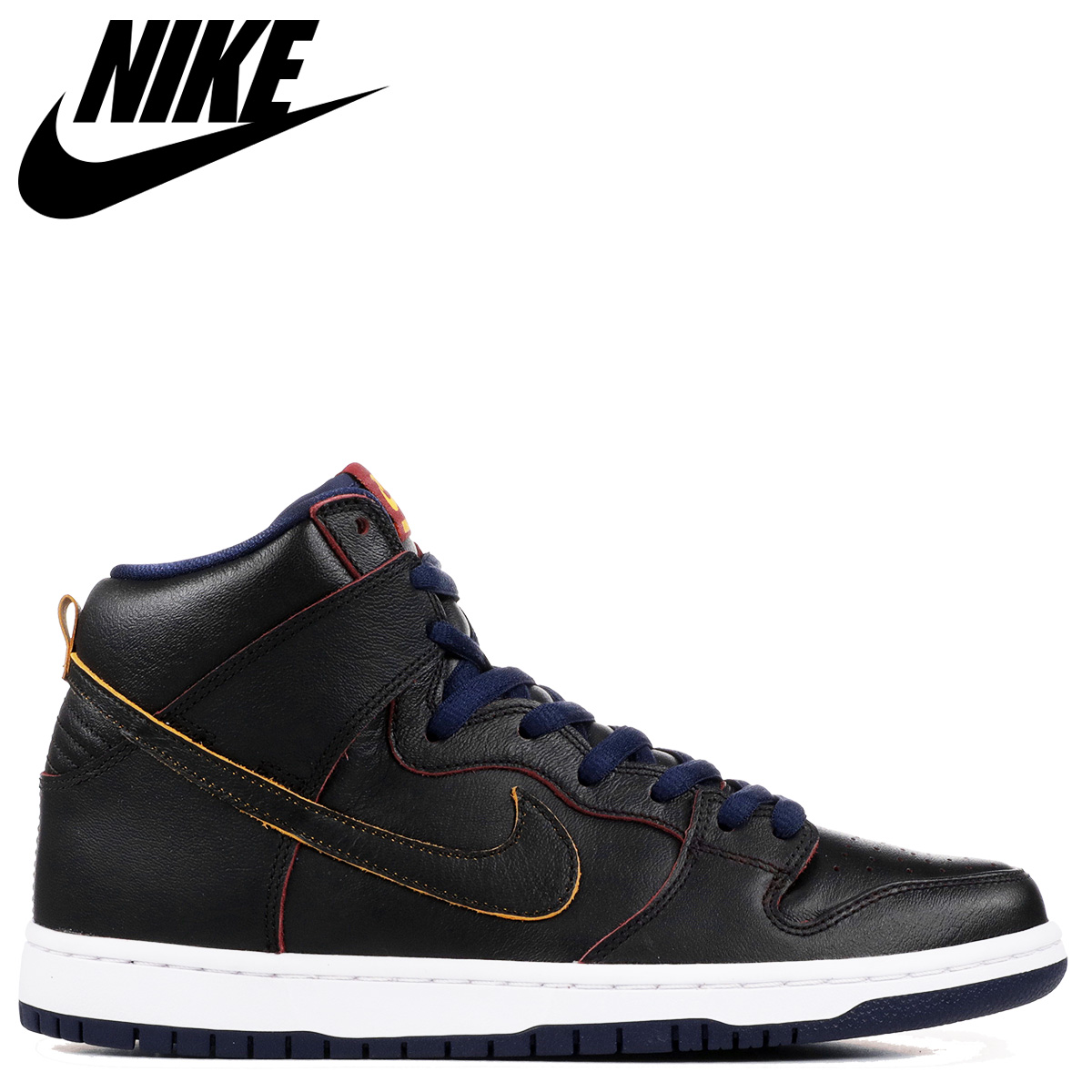 ナイキ NIKE SB ダンク ハイ スニーカー メンズ DUNK HIGH PRO NBA ブラック 黒 BQ6392-001 【zzi】【返品不可】
