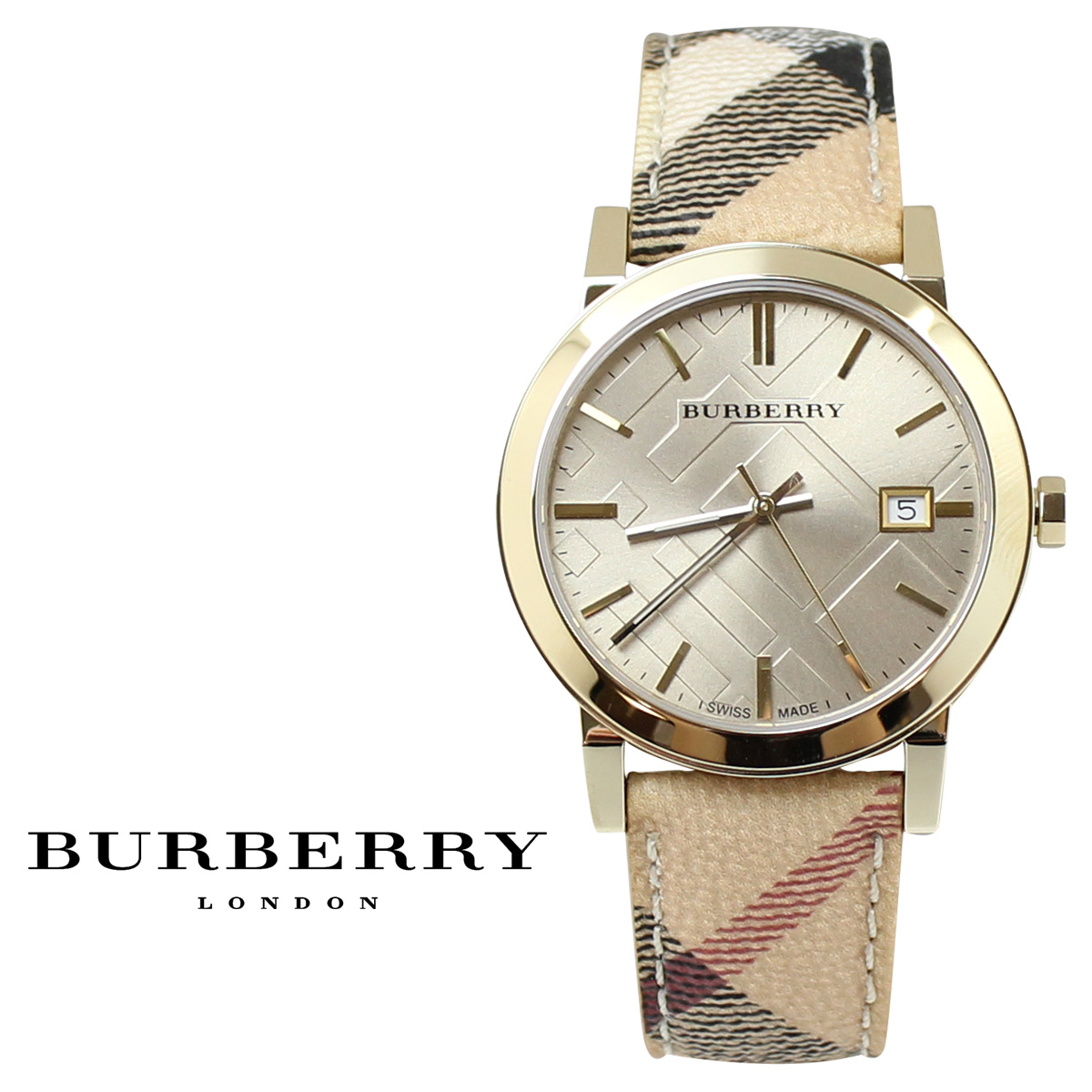 [SOLD OUT] BURBERRY Burberry watches THE CITY BU9026 men women [excluded]