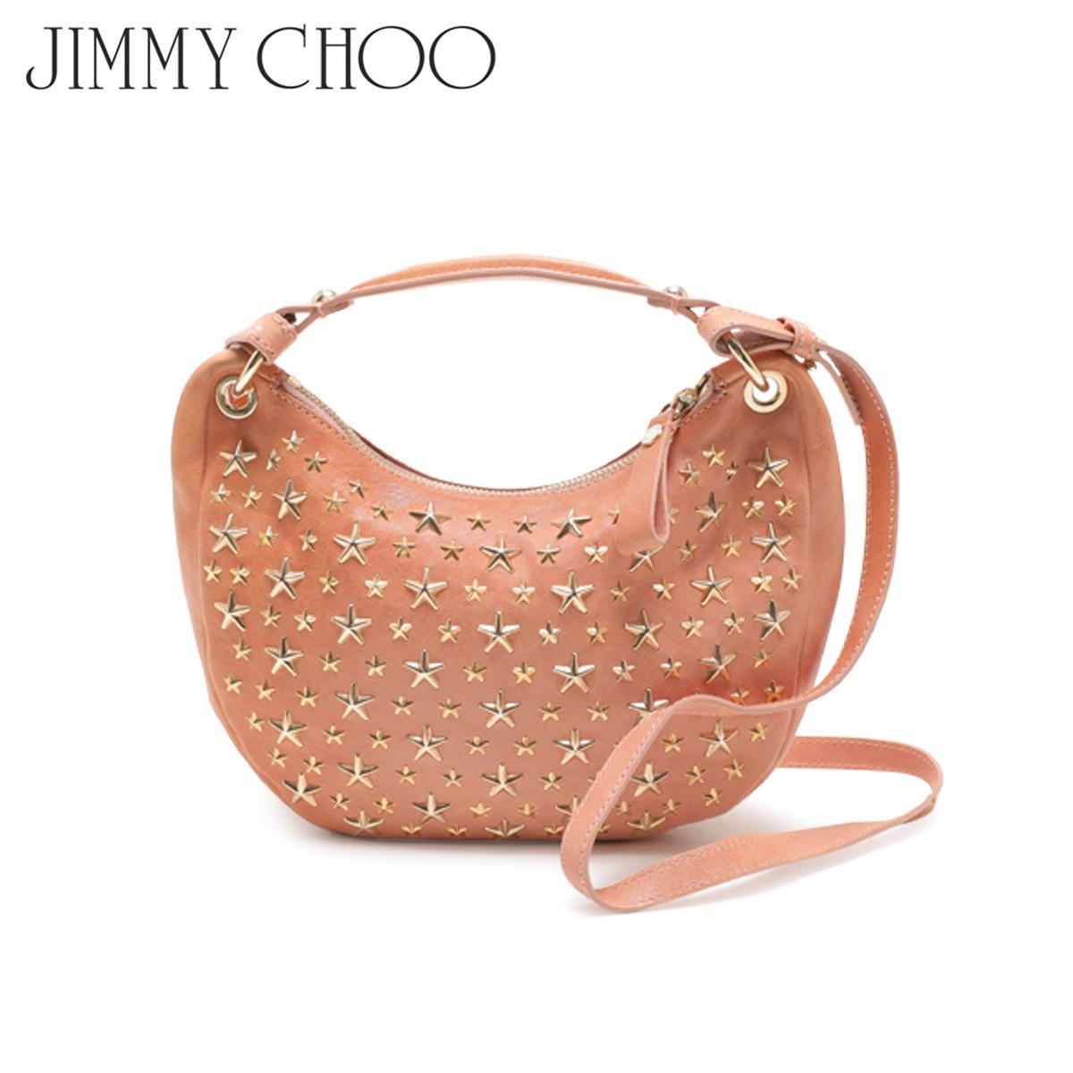 【訳あり】 JIMMY CHOO SHOULDER BAG ジミーチュウ バッグ ショルダーバッグ スタッズ レディース ベージュ 1667330 【返品不可】