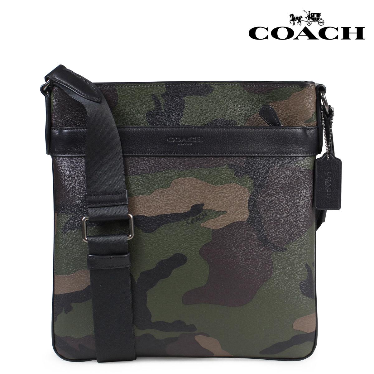 【訳あり】 COACH コーチ バッグ ショルダー メンズ 斜め掛け F59894 カモフラ 【返品不可】