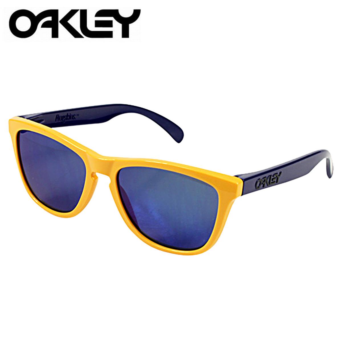 oakley blue yellow