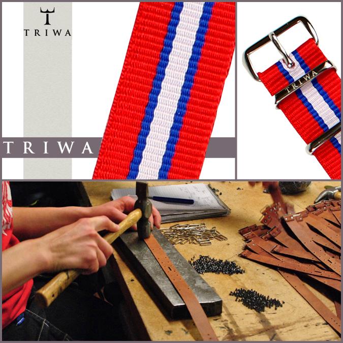 TRIWA氧化釷TRIWA專用的吊帶NORWAY STNY124 NORWAY NATO尼龍挪威人分歧D