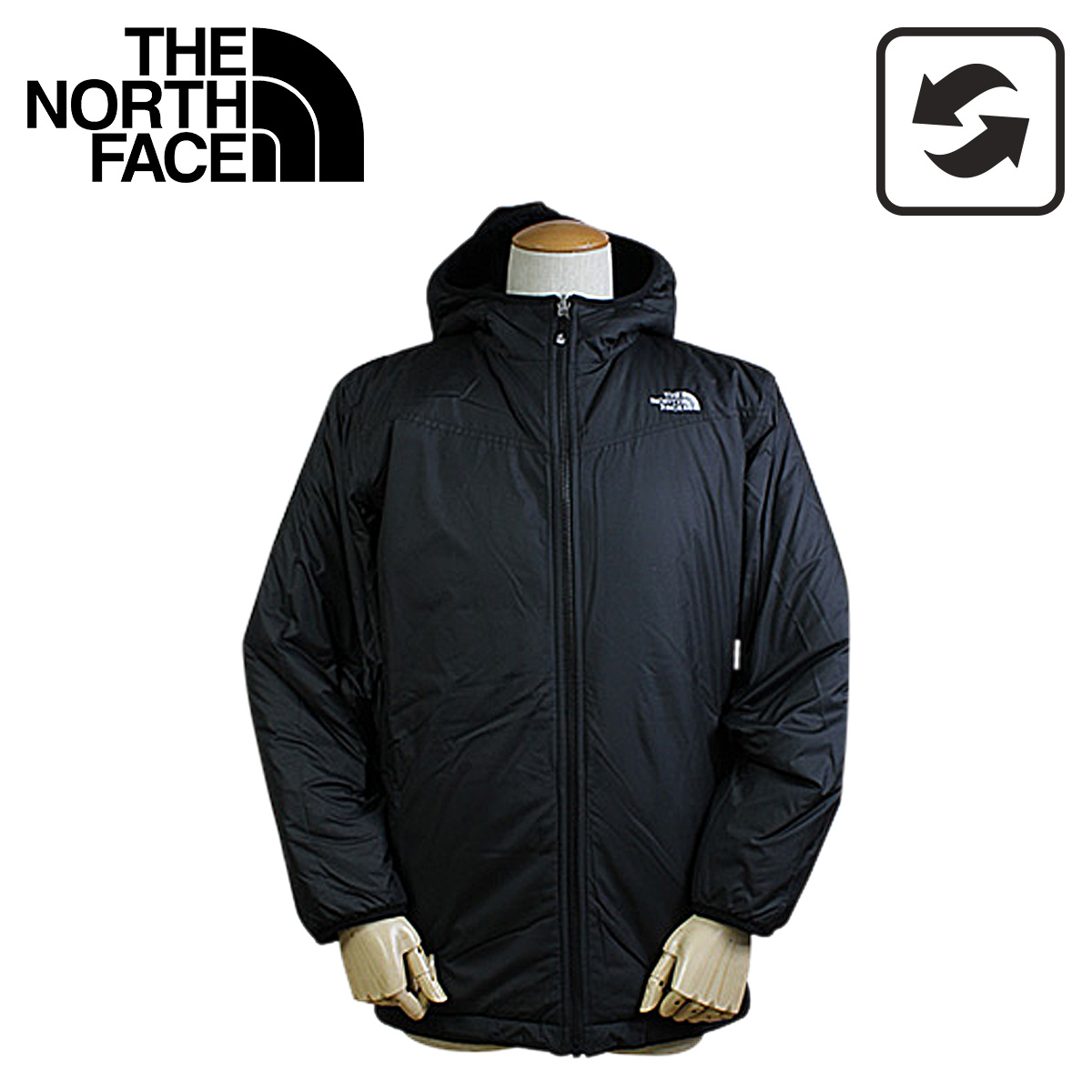 6224a4b591  SOLD OUT  the north face THE NORTH FACE kids   reversible fleece jacket  black A0B9 BOYS   REVERSIBLE TRUE OR FALSE JACKET men s women s