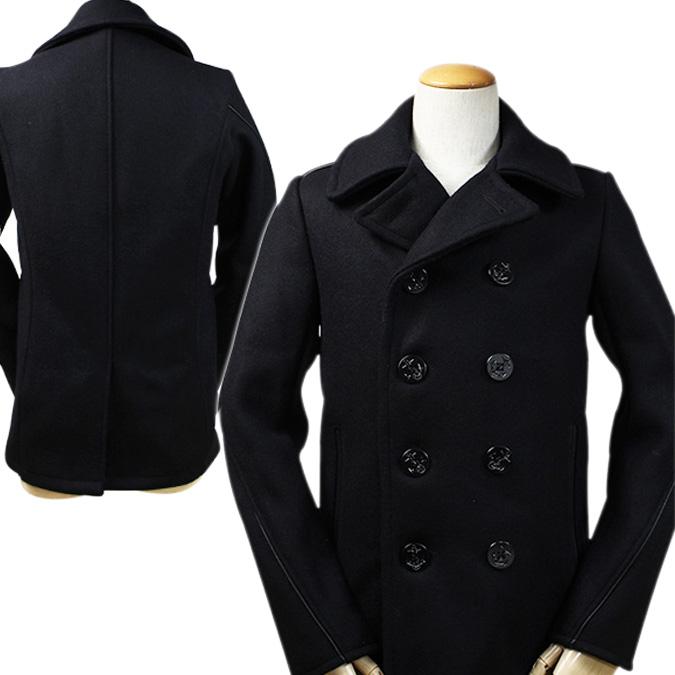 Whats up Sports | Rakuten Global Market: SCHOTT shot pea coat 740C ...