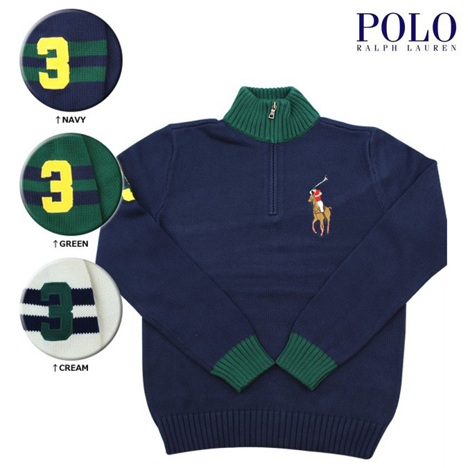 Polo Knit Kids Sweater Ralph Lauren Navy Pony Big Ovw8nmN0