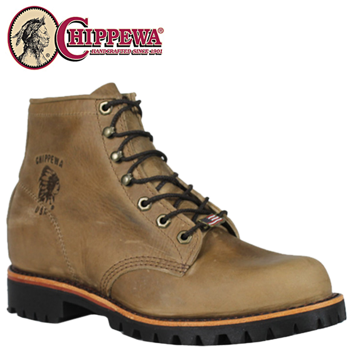 ea1910e9883ad [SOLD OUT] チペワ CHIPPEWA 6 inches race up rodeo tongue 6INCH LACE UP RODEO D  Wise leather 20082 boots BOOTS men