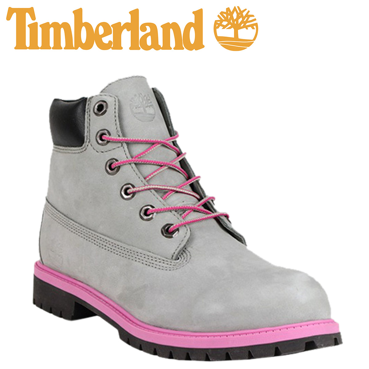 SOLD OUT  Timberland Timberland 6 inch premium boot gray 3194R 6INCH  PREMIUM BOOT junior kids child GREY GS Womens 14cbe7502