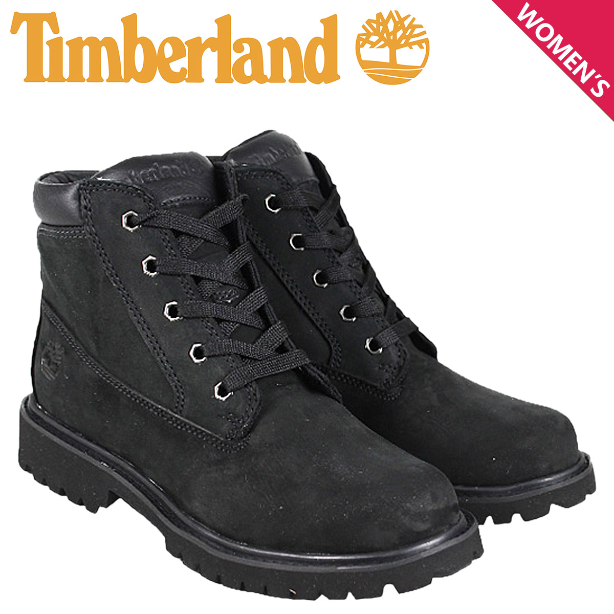 [SOLD OUT] Timberland Timberland Donna boots black 58325 DONNA BOOT nubuck  youth kids child GS Lady's
