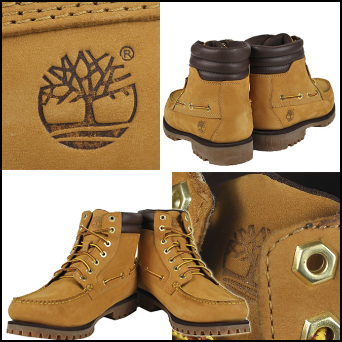 2d03fc09494 [SOLD OUT] Timberland Timberland Oakwell 7 eye MOC to boots wheat 72540  Oakwell 7Eye Moc Toe nubuck men's