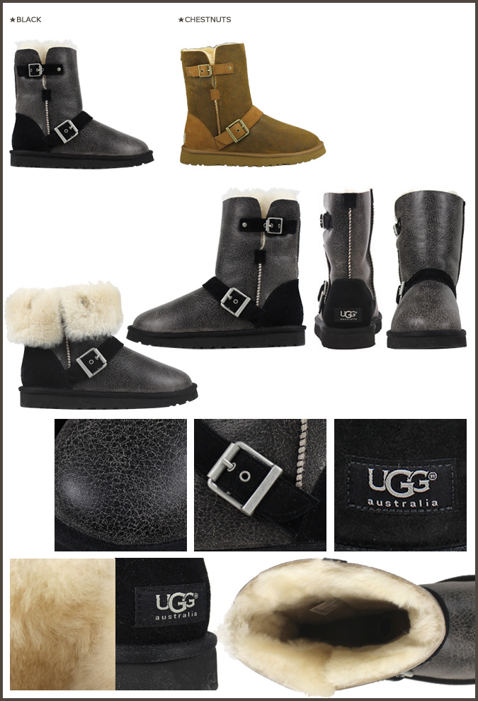 65e87c904d9 [SOLD OUT] UGG Ugg Classic short Shearling boots WOMENS CLASSIC SHORT DYLYN  1001202 Sheepskin bomber working ladies