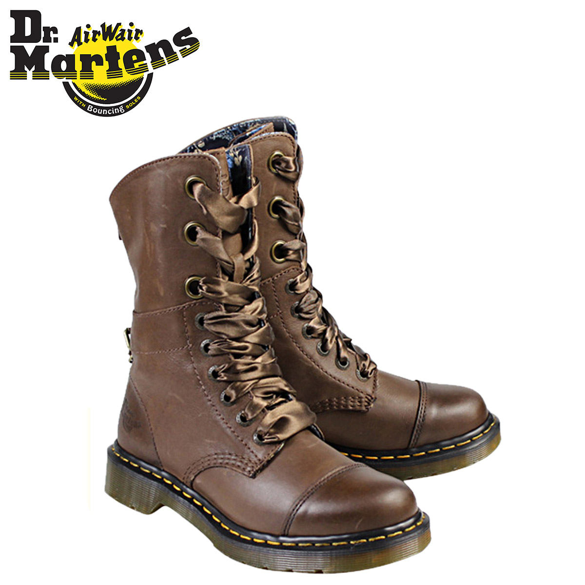 Whats up Sports  Dr.Martens Martens 9-hole boots 2WAY AIMILIE R ... 95db04224
