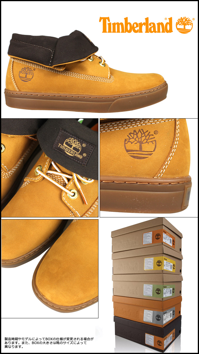 Timberland Timberland Newmarket roll top cup sole boots 6959R ウィート New Market Rolltop Cupsole Boot nubuck men