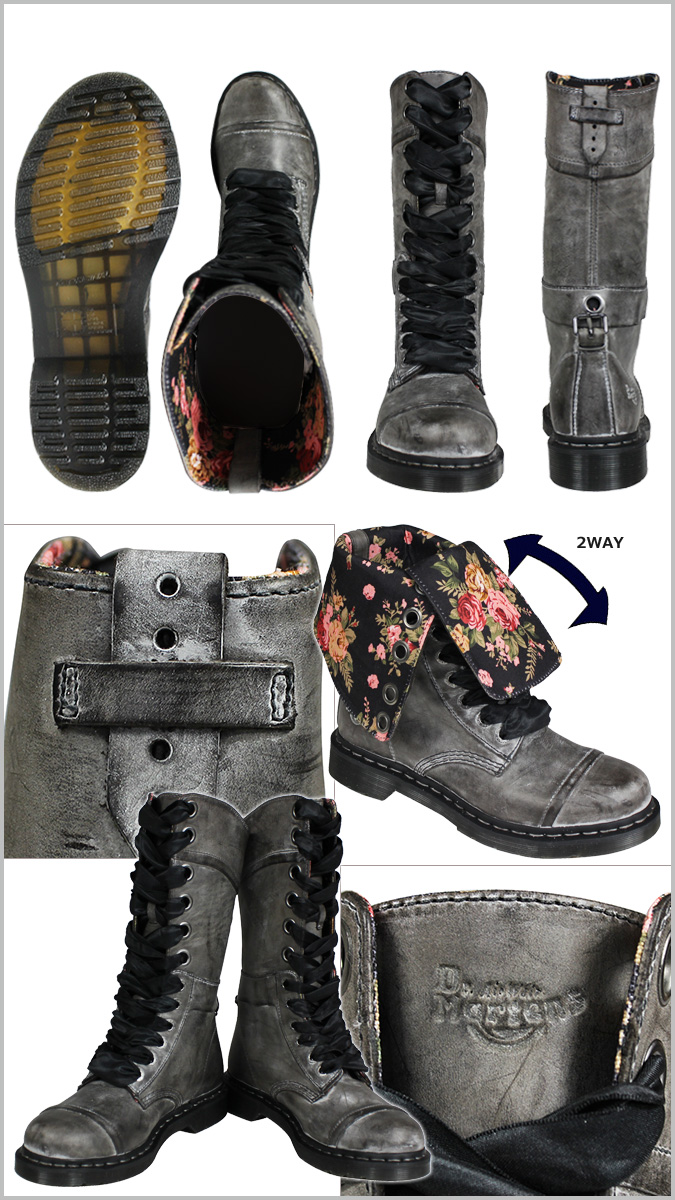 Dr.Martens博士馬丁1914 12禮堂長筒靴女士WOMENS TRIUMPH R12107002人