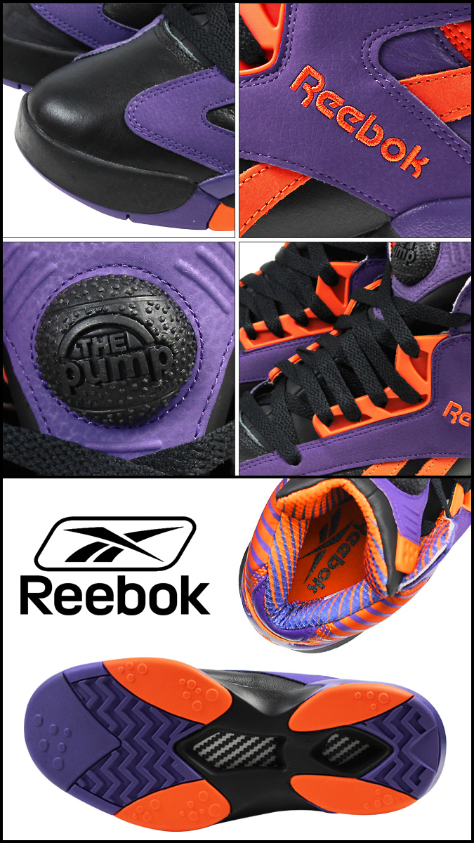 f9d2c2e8826 Reebok Reebok Shaq s sneakers SHAQ ATTAQ PHOENIX SUNS V61029 mens shoes  purple