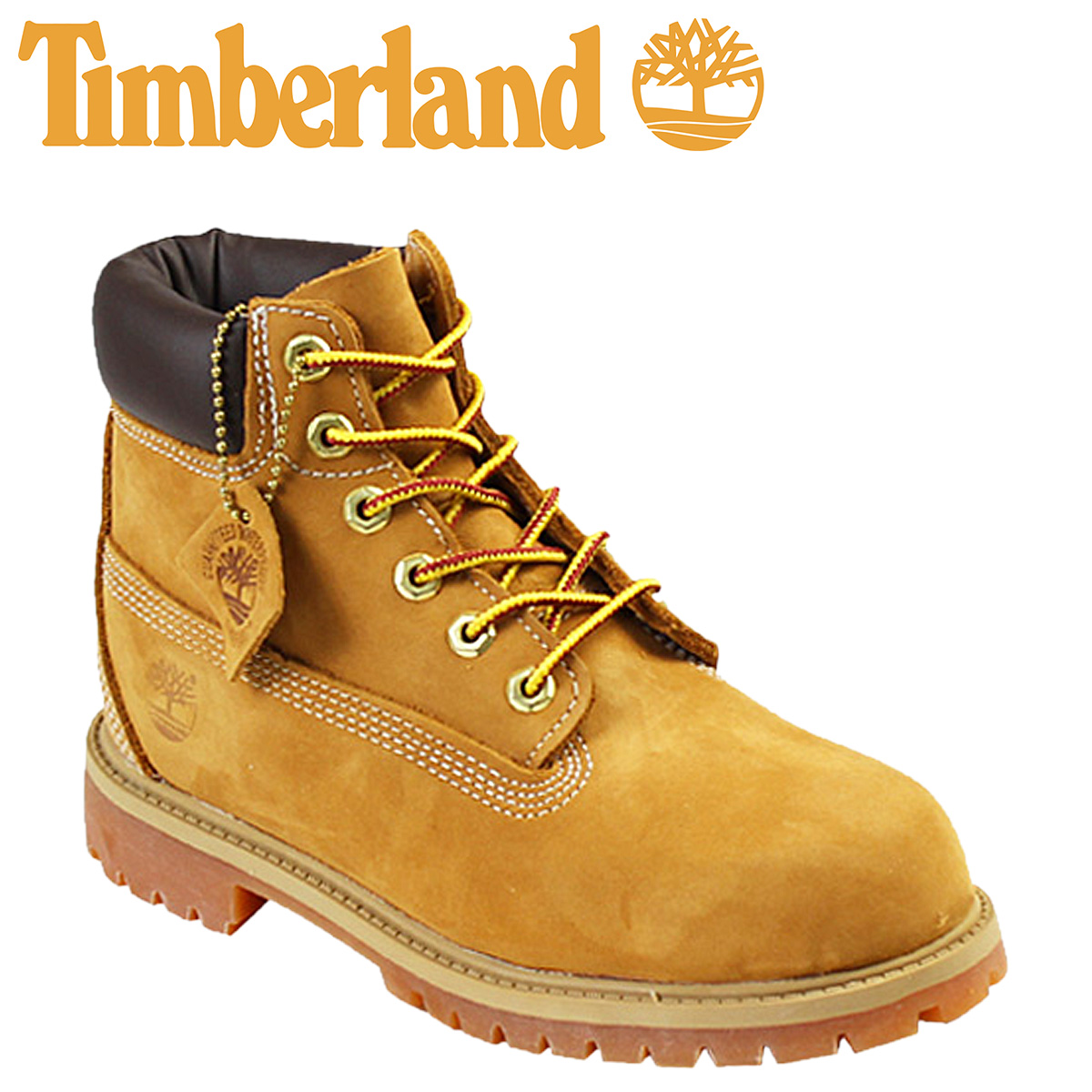 Whats up Sports   SOLD OUT  Timberland Timberland kids 6 inch classic  waterproof boots  wheat  YOUTH CLASSIC WATERPROOF BOOT nubuck junior kids  women s GS ... debee4820