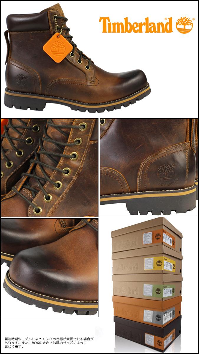 Botas De Cuero Marrón De 6 Pulgadas Earthkeepers Timberland De Los Hombres p03pJDk8