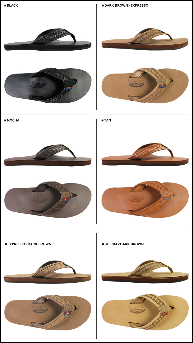 RAINBOW SANDALS Rainbow Sandals Sandals flip flop Beach Sandals 301 ALTWS  mens