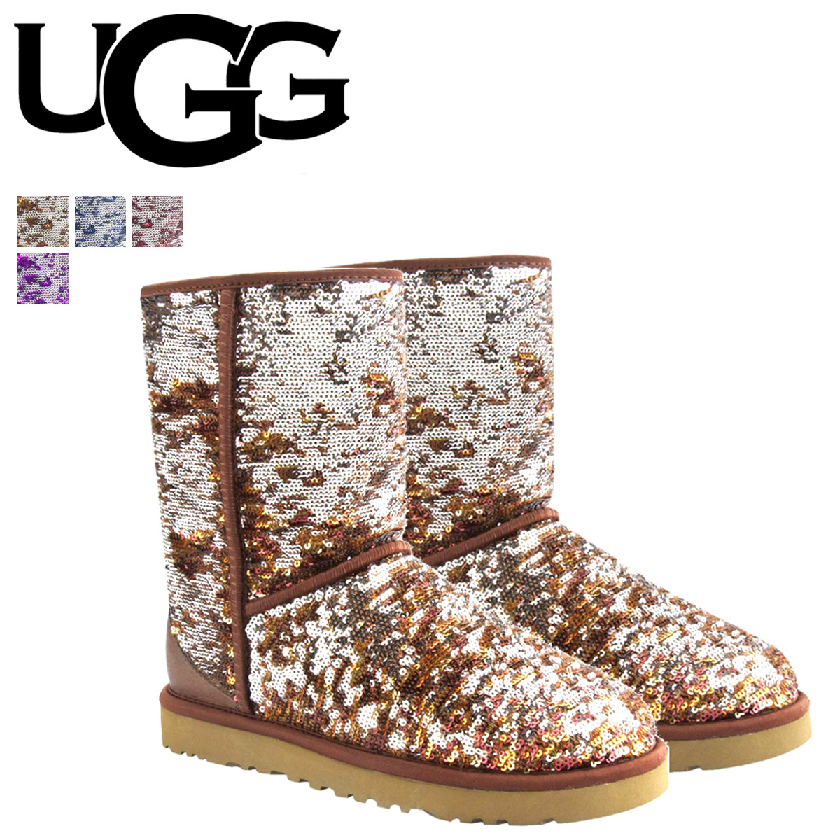 Whats up Sports | Rakuten Global Market: UGG Ugg Classic short Shearling boots WOMENS CLASSIC SHORT SPARKLES 1002766 1002765 1002978 Sheepskin ladies