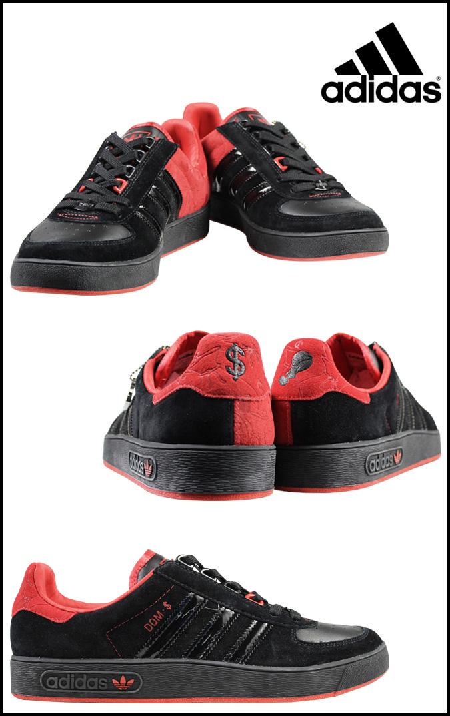 adidas ART愛迪達藝術阿迪彩色運動鞋DQM J-MONEY ADICOLOR LO R1協作562887男子的鞋黑色