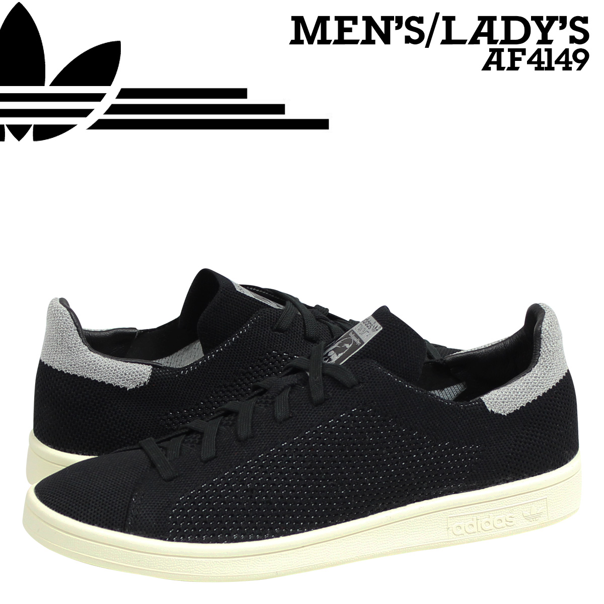 info for 1004b d83a7 Whats up Sports  adidas Originals adidas originals Stan Smith sneakers STAN  SMITH PK REFLECTIVE CONSORTIUM AF4149 men s women s shoes black   Rakuten  Global ...