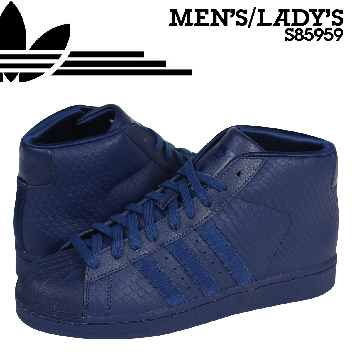 adidas Originals adidas original Pro model sneakers PRO MODEL SNAKE S85959 men's women's shoes blue