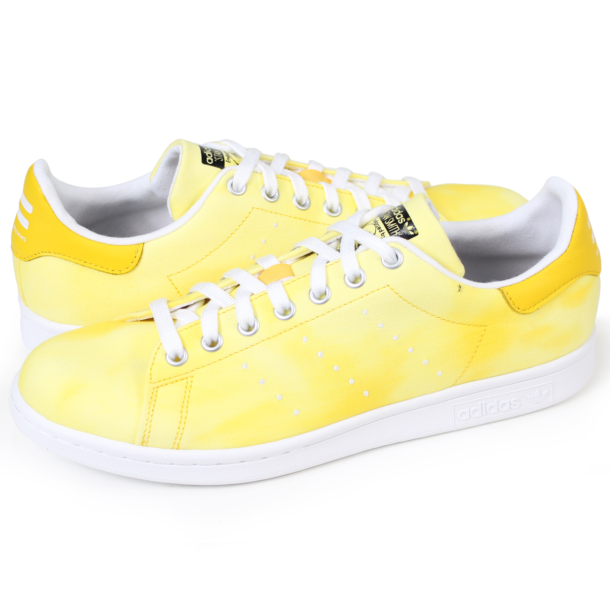 fe8ad6f202e8c adidas Originals PW HU HOLI STAN SMITH Adidas Stan Smith sneakers Farrell  Williams men collaboration AC7042 yellow originals  3 20 Shinnyu load