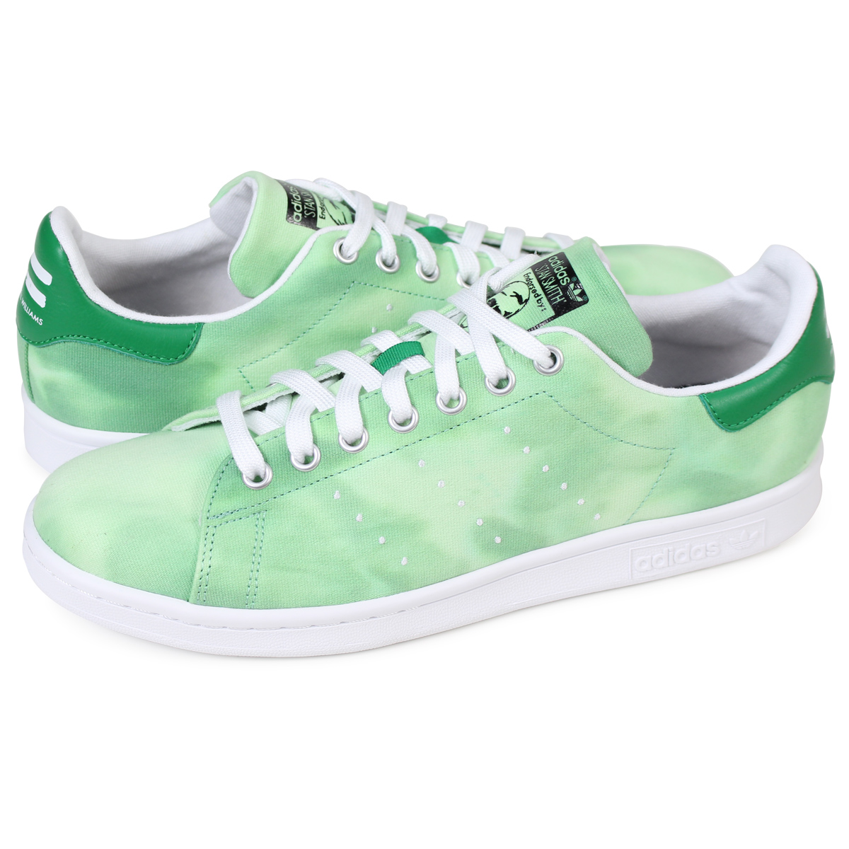 f2ddcdda6be7e adidas Originals PW HU HOLI STAN SMITH Adidas Stan Smith sneakers Farrell  Williams men collaboration AC7043 green originals  load planned Shinnyu  load in ...