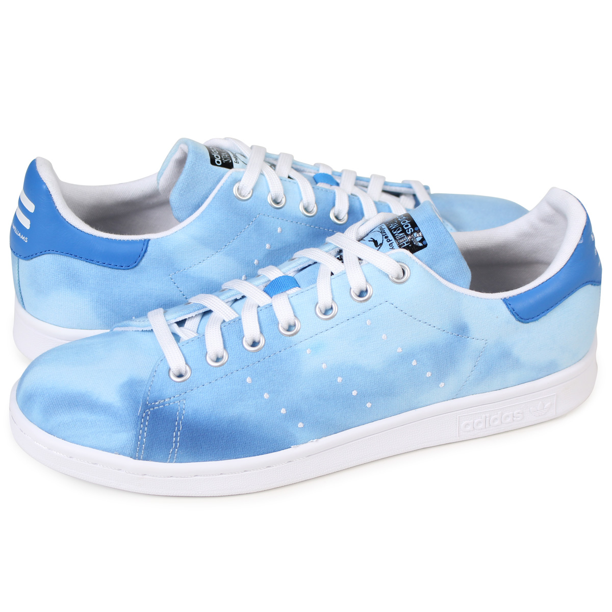 best sneakers 1bcb8 098cc adidas Originals PW HU HOLI STAN SMITH Adidas Stan Smith sneakers Farrell  Williams men collaboration AC7045 blue originals [load planned Shinnyu load  ...